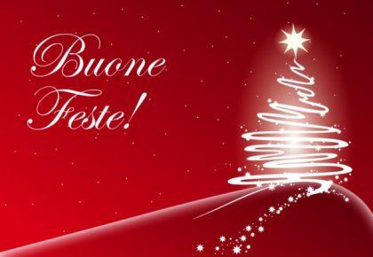 Le festività natalizie sono occasione a noi gradita per augurarti un Sereno Natale e un Felice Anno Nuovo.