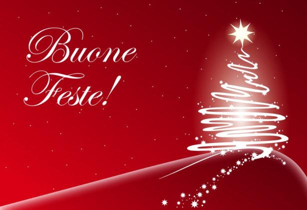 I nostri migliori auguri di Buone Feste!